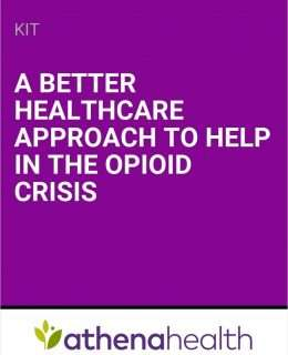 A Better Healthcare Approach to Help in the Opioid Crisis