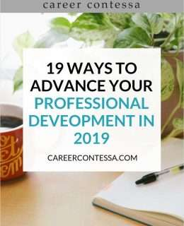 19 Ways to Advance Your Professional Development in 2019