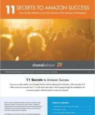 11 Secrets to Amazon Success