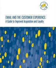 Email and the Customer Experience: A Guide to Improved Acquisition and Loyalty