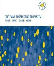 Email Prospecting Ecosystem - Target ? Contact ? Engage ? Acquire