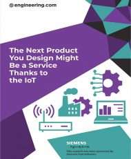 The Next Product You Design Might  Be a Service  Thanks to  the IoT