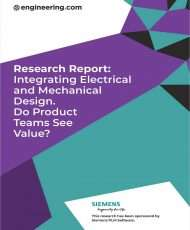 Integrating Electrical and Mechanical Design. Do Product Teams see Value?
