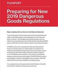 Preparing for New 2019 Dangerous Goods Regulations