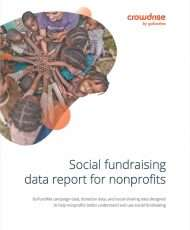 Social Fundraising Data Report for Nonprofits