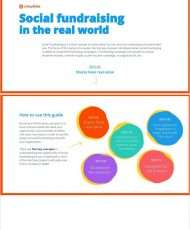 The Complete Social Fundraising in the Real World eGuide for Nonprofits