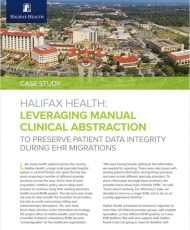 Leveraging Manual Clinical Abstraction to Preserve Patient Data Integrity