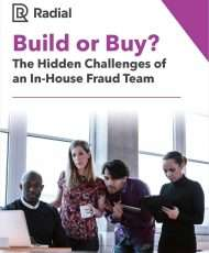 Build or Buy: The Hidden Challenges of an In-House Fraud Team