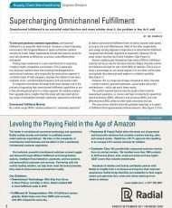 Supercharging Omnichannel Fulfillment