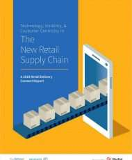 The New Retail Supply Chain