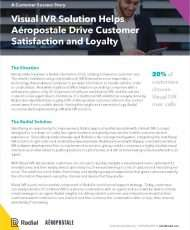 Visual IVR Solution Helps Aéropostale Drive Customer Satisfaction and Loyalty