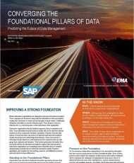 Converging the Foundational Pillars of Data