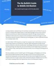Mobile Attribution Made Simple: The No-Frills Guide to Help You Evaluate Providers