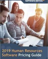 Compare Human Resources Software Pricing: Software Advice's 2019 Guide