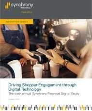 Driving Shopper Engagement Through Digital Technology