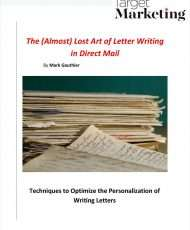 The (Almost) Lost Art of Letter Writing in Direct Mail