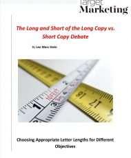 The Long and Short of the Long Copy vs. Short Copy Debate