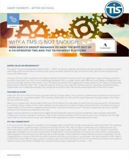 [Factsheet] Why A TMS is not enough
