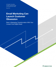 4 1 190x230 - Forrester Email Marketing Can Launch Customer Obsession