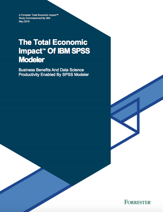 Screen Shot 2019 02 05 at 7.46.26 PM - Forrester Study: The Total Economic Impact™ Of IBM SPSS Modeler