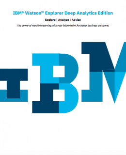 Screen Shot 2019 02 05 at 7.52.45 PM 260x320 - Watson Explorer Deep Analytics Edition white paper