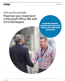 Screen Shot 2019 02 08 at 11.37.39 PM 260x320 - Maximize your investment in Microsoft Office 365 with Citrix Workspace