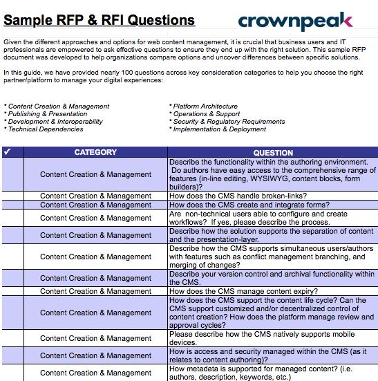 Screen Shot 2019 02 08 at 11.45.21 PM - Sample RFP & RFI Questions Worksheet