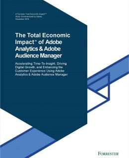 The Total Economic Impact™ of Adobe Analytics and Adobe Audience Manager