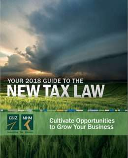 Your Guide to The New Tax Law