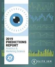 2019 Predictions Report: Analytics & Marketing Science