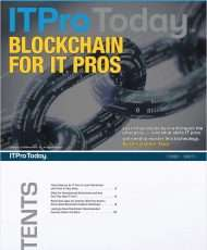 Blockchain for IT Pros