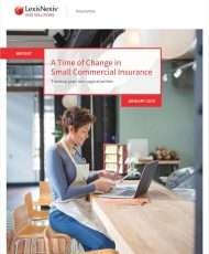 A Time of Change in Small Commercial Insurance: Turning Gaps into Opportunities