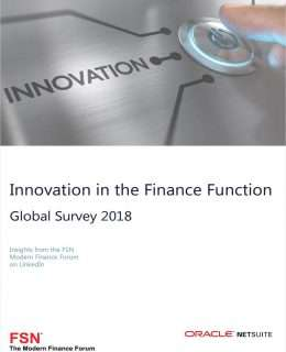 Innovation in the Finance Function