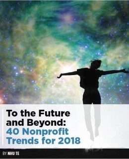 40 Nonprofit Trends for 2018