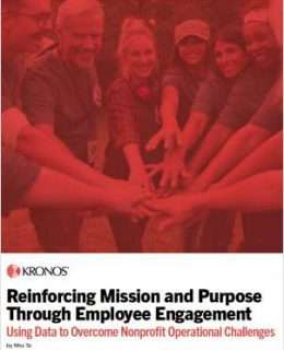 Reinforcing Mission and Purpose Through Employee Engagement
