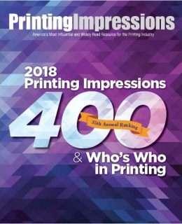 2018 Printing Impressions 400 Ranking