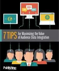 7 Tips for Maximizing the Value of Audience Data Integration