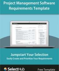 Project Management Software Requirements Gathering Template