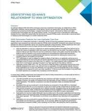 Demystifying SD-WAN's Relationship to WAN Optimization