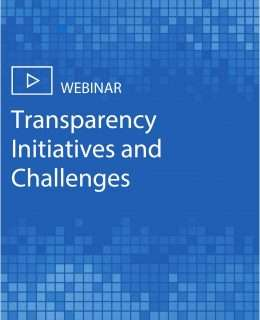 Transparency Initiatives and Challenges