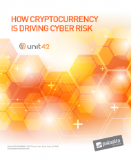 Screenshot 2019 03 07 FY19Q2 Email Unit 42 Cryptocurrency Threat Report Exec Titles English pdf 190x230 - How Cryptocurrency is Driving Cyber Risk