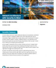 Screenshot 2019 03 26 SANS Whitepaper Network Architecture with Security in Mind ar sans whitepaper network architecture ... 190x230 - SANS Whitepaper: Network Architecture with Security in Mind