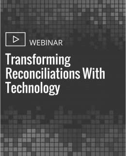 Transforming Reconciliations With Technology