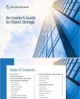 Insider's Guide to Object Storage