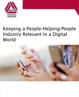 Keeping a People-Helping-People Industry Relevant in a Digital World