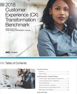 2018 NICE inContact CX Transformation Benchmark - Study
