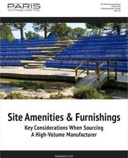 Site Amenities & Furnishings: Key Considerations When Sourcing A High-Volume Manufacturer
