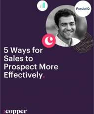 5 Ways for Sales to Prospect More Effectively