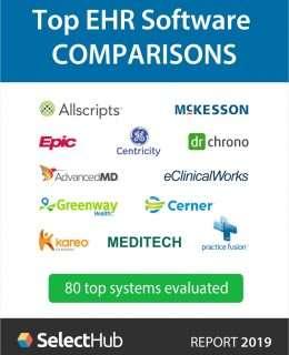 Top EHR Software Comparisons 2019