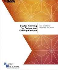 Digital Printing for Packaging: Folding Cartons